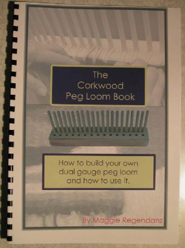 How to make and use a peg loom book